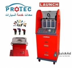 جهاز إختبار وتنظيف الرشاشات البنزين Launch CNC-601A